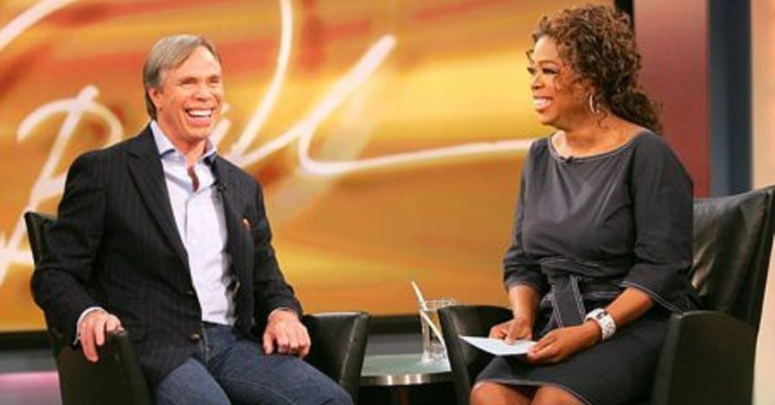 6f3176f6 Oprah Winfrey supposedly kicked designer Tommy Hilfiger off her show when  he announced,