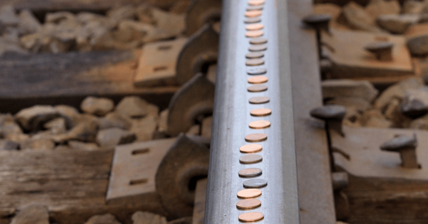 Will Placing a Penny on the Tracks Derail a Train?