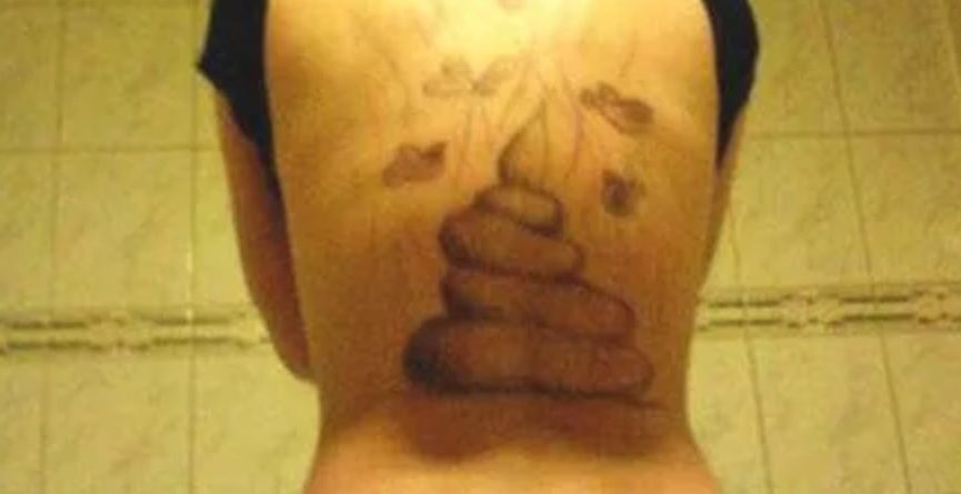Did a Man Secretly Tattoo Excrement on His Ex-Girlfriend's Back?