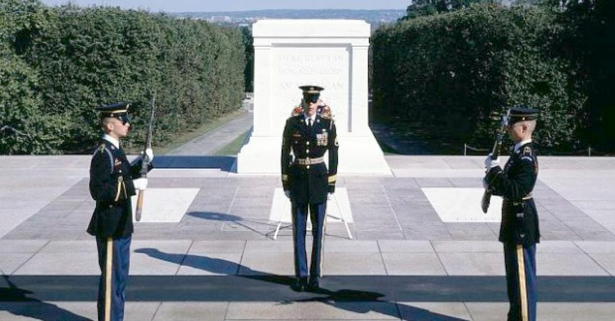 Does Arlington National Cemetery's Honor Guard Follow These