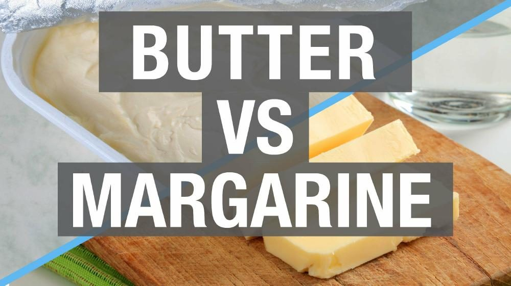 Replacing butter with margarine in recipes