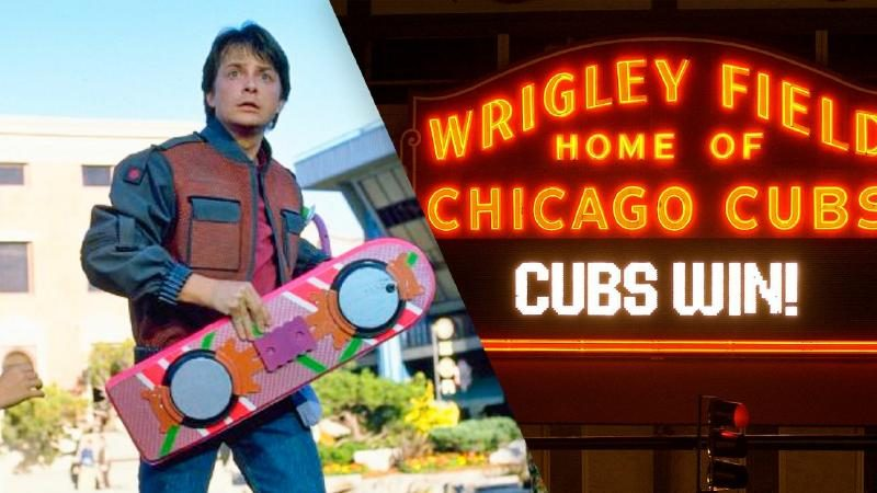 Back to the Future II' Correctly Predicted Cubs World Series