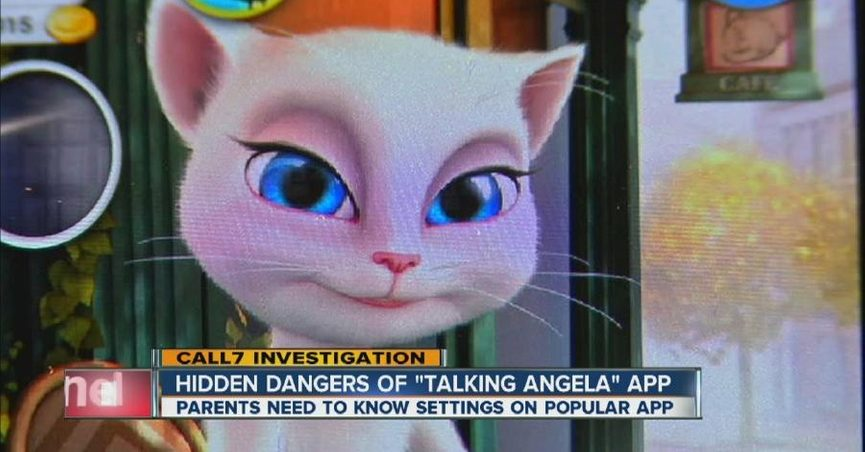 Is the 'Talking Angela' App Unsafe for Children?