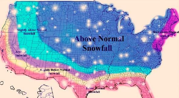 Fact Check Meteorologists Predict Record Shattering Snowfall Coming - Map-of-us-snowfall