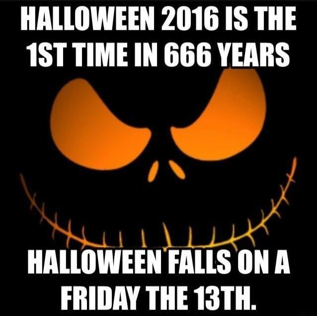 How Many Days Till Christmas Meme.Does Halloween Fall On Friday The 13th For The First Time In
