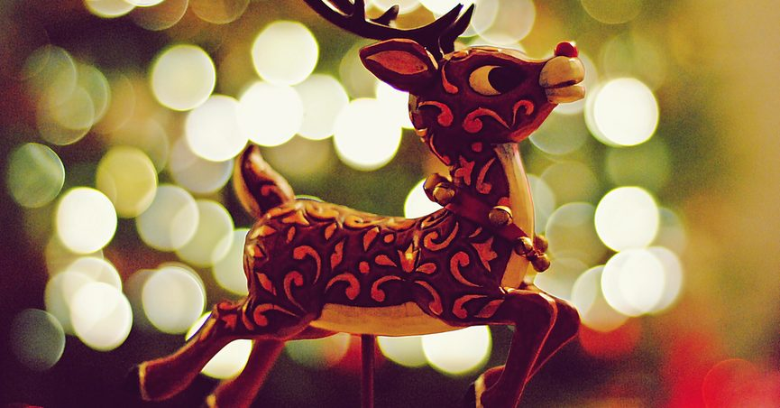 image via flickr ashley coombs - Rudolph The Red Nosed Reindeer Christmas Decorations