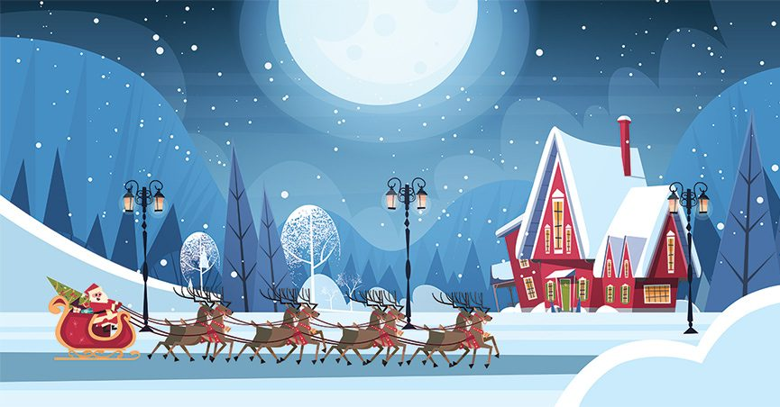 What Are The True Names Of Santa S Reindeer