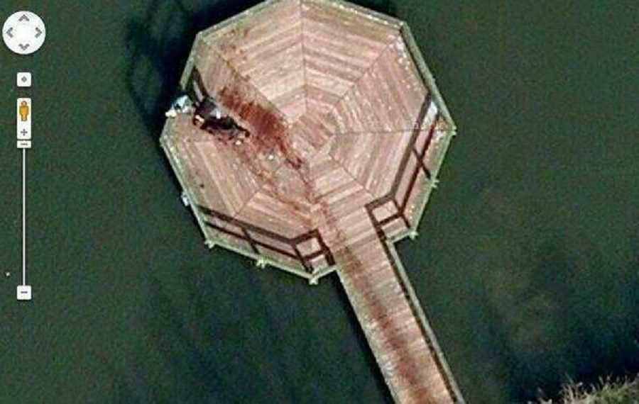 Is A Dead Body Visible At Google Maps