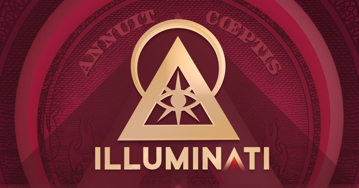 What happens if you type illuminati backwards