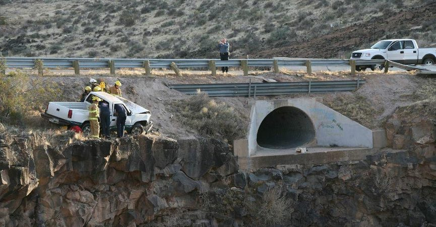 Livin' on the Edge' Truck Accident