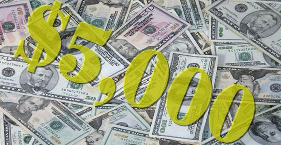 Today show $5000 giveaways