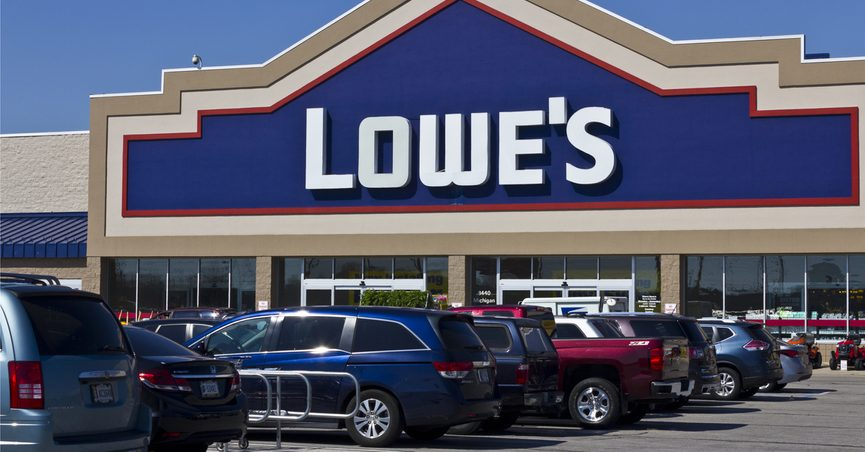 Lowe's storefront, Indianapolis