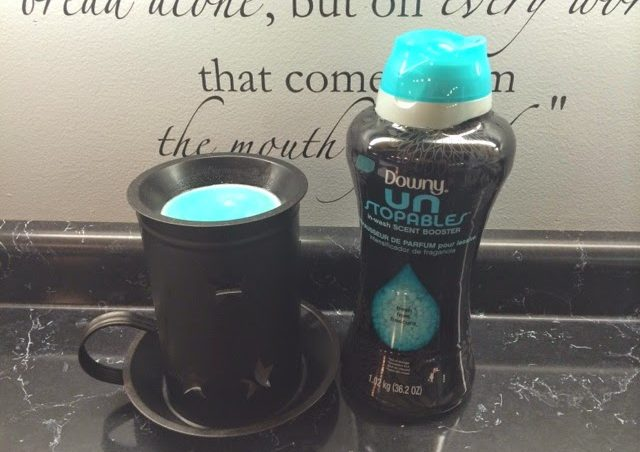 Procter and Gamble doesn't recommend using Downy Unstopables in a wax warmer, but the practice probably won't kill you.