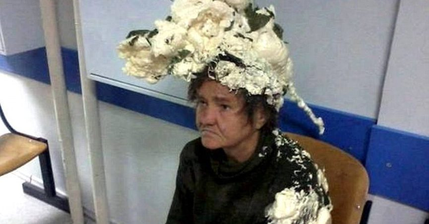 Did This Woman Confuse Spray Foam Insulation For Mousse