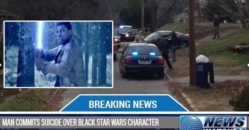 black star wars character suicide