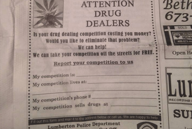 Hiring Snitches, Apply Within
