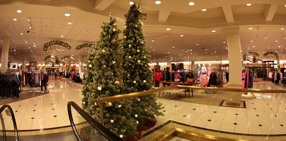 while nordstrom does have a longstanding policy not to decorate for christmas until after thanksgiving a photograph of a sign to that effect which went