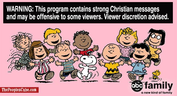 charlie brown christian content warnings