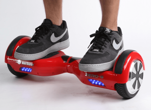 """A new law to regulate the use of """"hoverboards"""" will go into effect in  California on 1 January 2016."""
