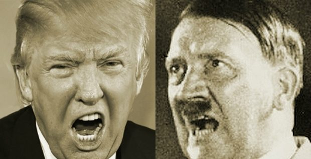 Image result for trump hitler picture