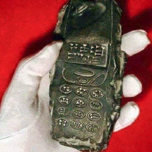 Did Archaeologists Dig Up an 800-Year-Old Alien Cellphone?