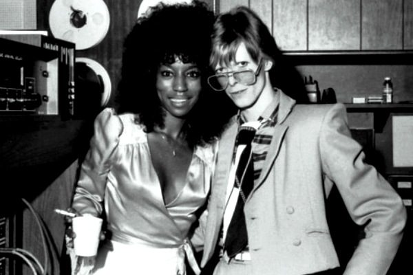 bowie and Claudia Lennear
