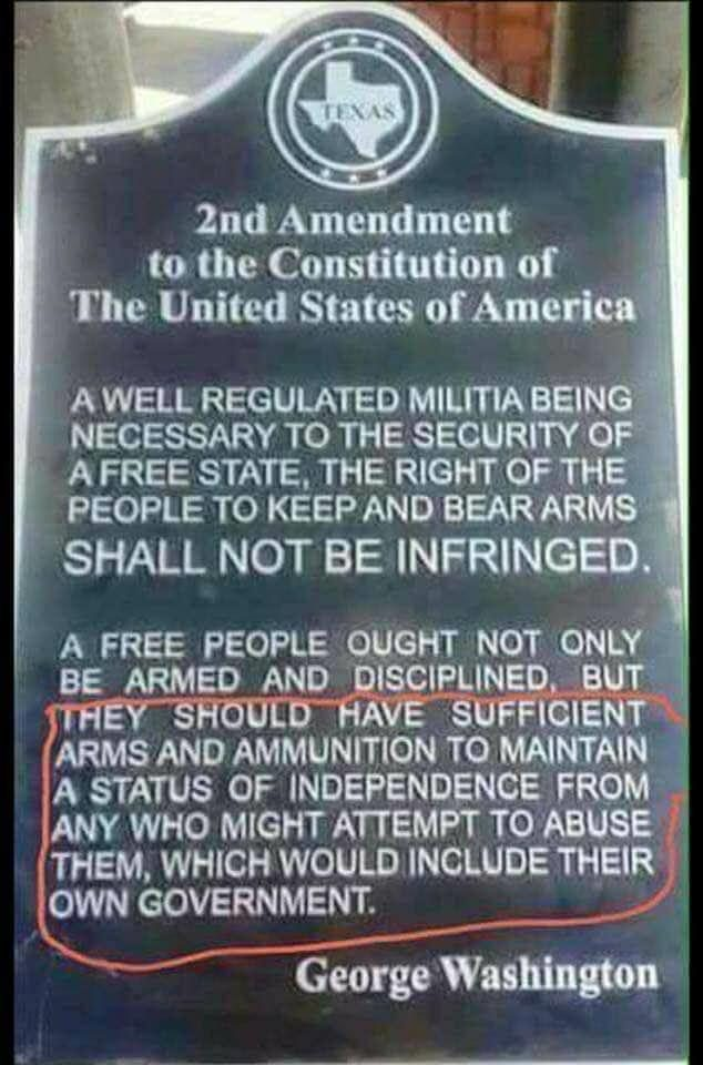 Did George Washington Want Citizens Armed Against the ...
