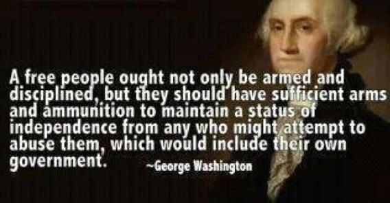 Fact Check Did George Washington Want Citizens Armed Against The