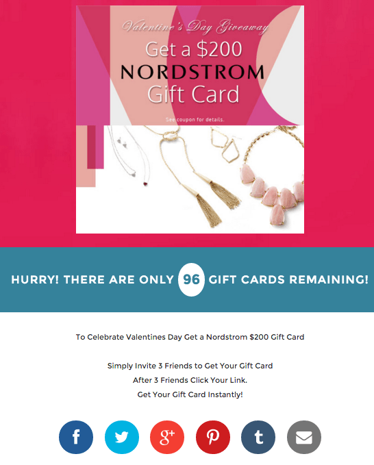 The landing page in question didn t resemble other popular Facebook coupon  scams. However e5fca7822