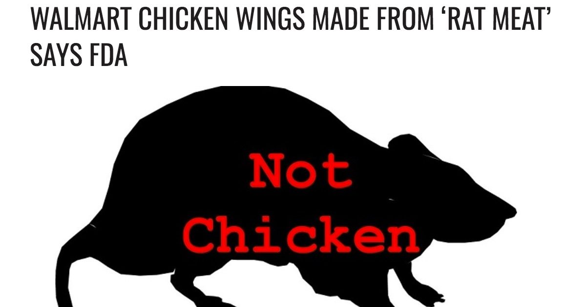 Fact Check Rat Meat Sold As Chicken Wings Before Super Bowl