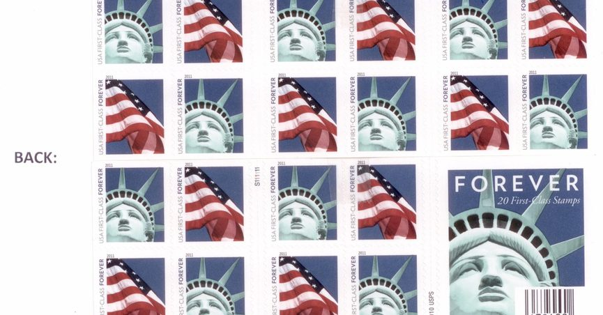 fact check: (takes) forever stamps