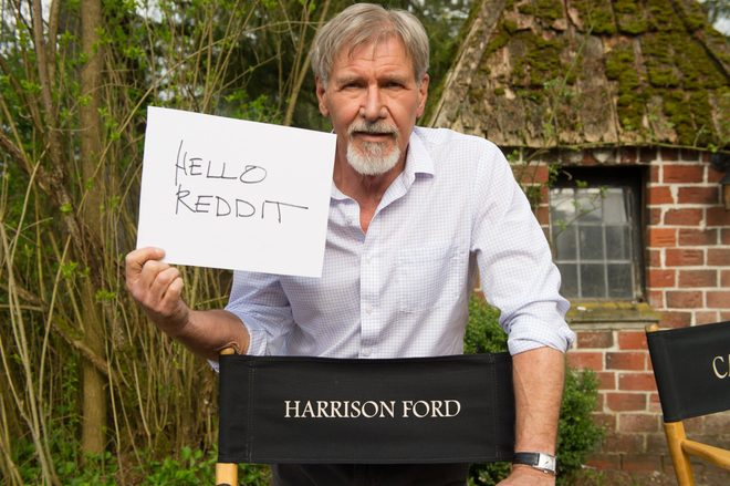 harrison ford trump sign