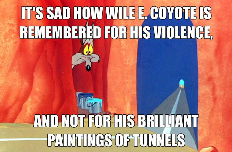 tunnel painting