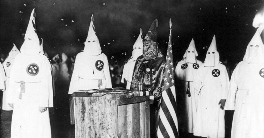 Image of KKK from 1920.