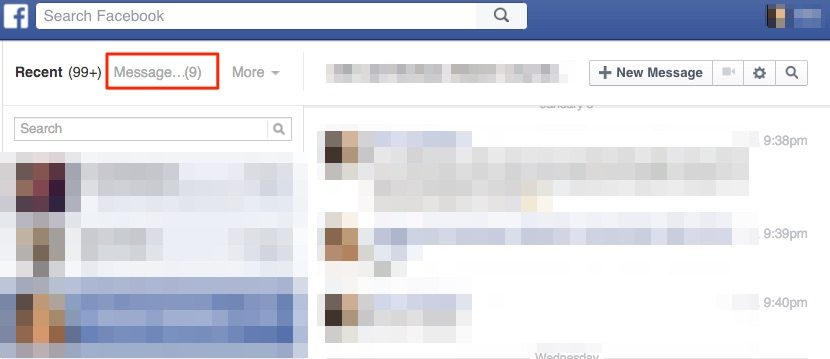 facebook hidden messages 2