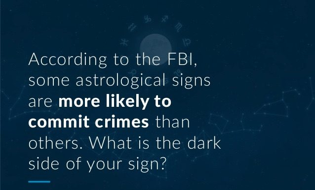 Fact Check Did The Fbi Reveal The Most Dangerous Zodiac Signs
