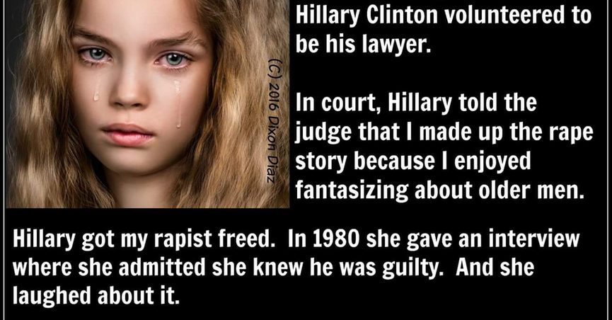 de6c6c780 Hillary Clinton's role in a 40-year-old rape case became the focal point of  a viral meme in 2016, but the claims made about it were mostly inaccurate.