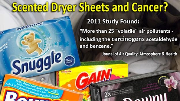 Dryer Sheets Full of Toxic Chemicals?