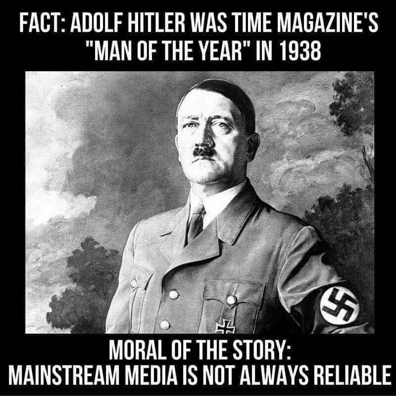 Great Depression Germany Quotes: FACT CHECK: Was Adolf Hitler Named 'Man Of The Year' By