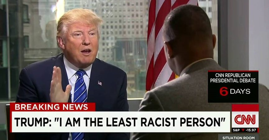 Was Donald Trump Never Accused of Racism Before Running Against Democrats?