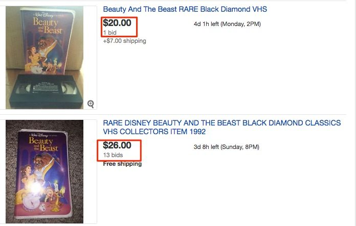 beauty and the beast black diamond value