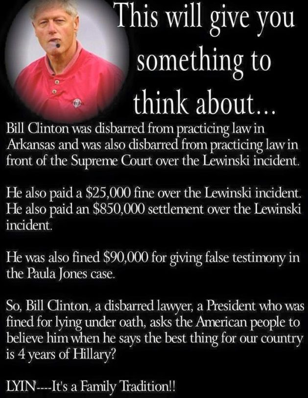 fact check: bill clinton was fined, disbarred over the monica