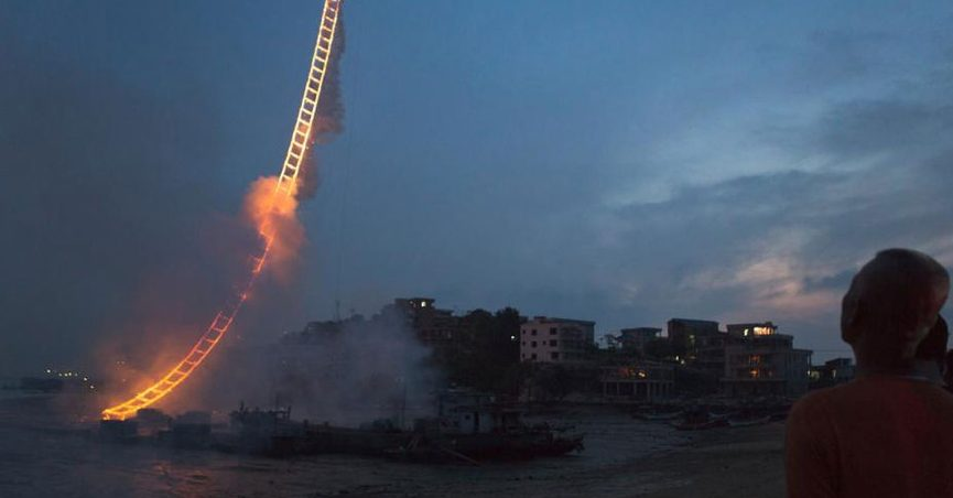 Fact Check Stairway To Heaven Fireworks Display