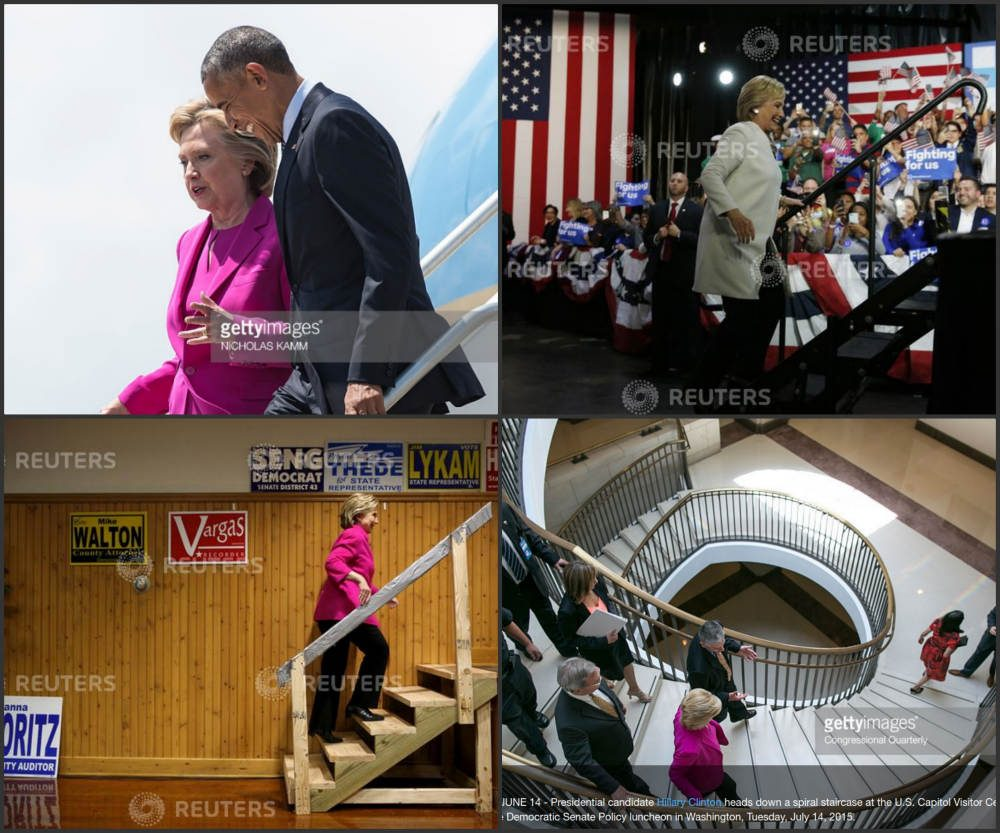 clinton stairs