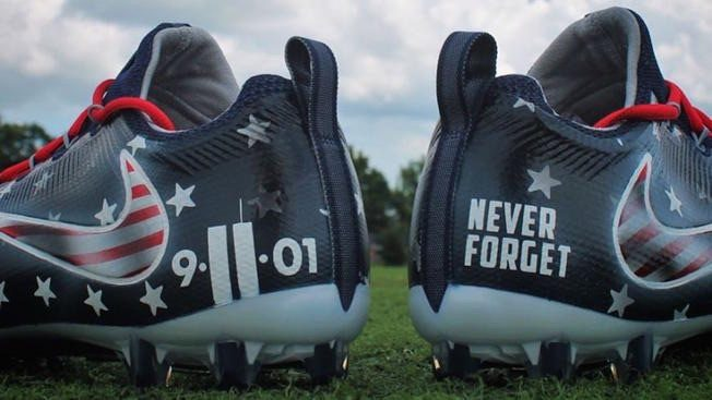 9488b963a46 FACT CHECK  NFL Fining Players for Wearing 9 11 Memorial Cleats