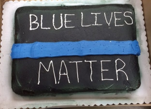Walmart Refuses To Produce A Thin Blue Line Retirement Cake