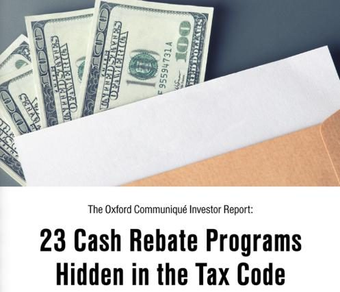 Misleading Ads Touting A New Law That Provides Consumers With Cash Rebate On Every Single Purchase Actually Reference An Old Tax Break Benefits
