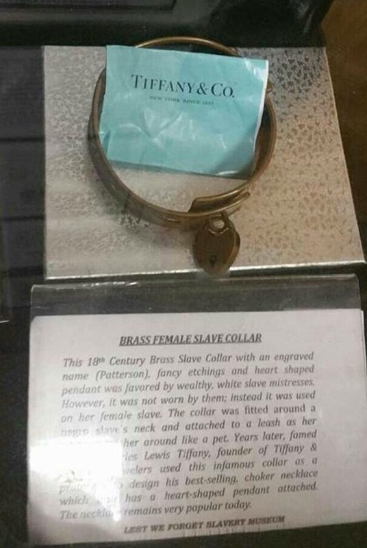 937d249f207 My lil sis is at the African-American history museum in DC. Crazy the  things u never knew. Still want that Tiffany Bracelett  Just saying.