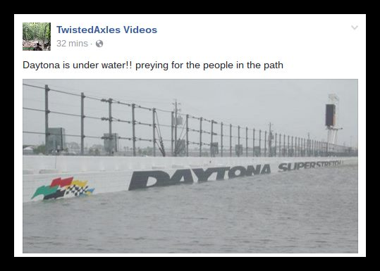 daytona flood