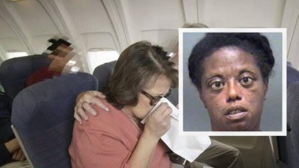 FALSE: Airplane Forced to Make Emergency Landing Because Woman's V@gina Smelled So Bad